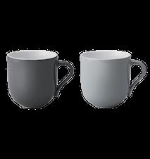 Emma kopp, stor, 2 st - grå