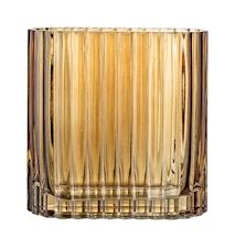 Vase Brown Glass 14x6,5 cm