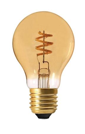 Elect Spiral LED Fil Normal Gold 60 mm