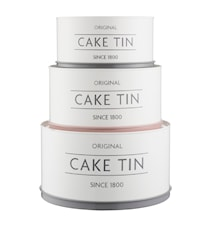 MC INNOVATIVE KITCHEN SET OF 3 CAKE TINS