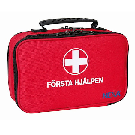 Första Hjälpen-väska Stor 62 delar