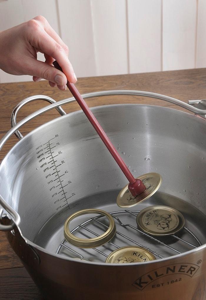 Termometer med lokk
