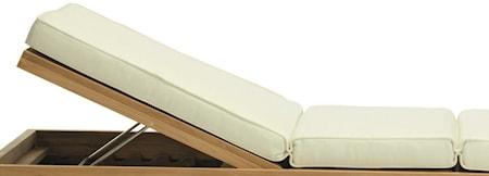 Essenza lounge bed madrass Ivory