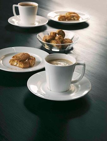 GC Kaffekopp med fat 26 cl vit