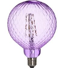 Elegance LED Cristal Cristal Purple 125 mm