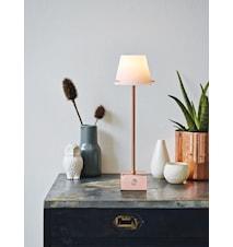 Gil bordlampe LED - Kobber, hvid