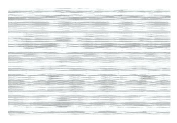 Dækkeserviet - Stribet - PP - Hvid - Grå - L 44,0cm - B 28,5cm - Stk.