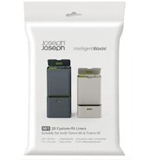 Plastpåsar refill 20-pack