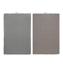 Handduk Elm 2-pack Mirage grey