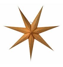 Skina Julstjärna Guld 80 cm