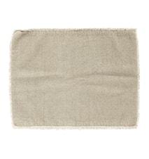 Tablett stenvasket 33x48 cm - Beige