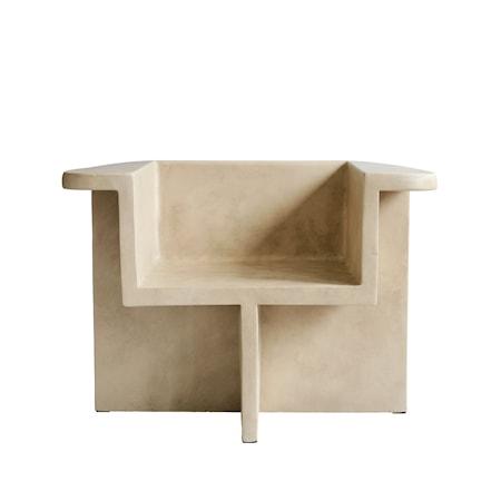Brutus Lounge Chair Sand
