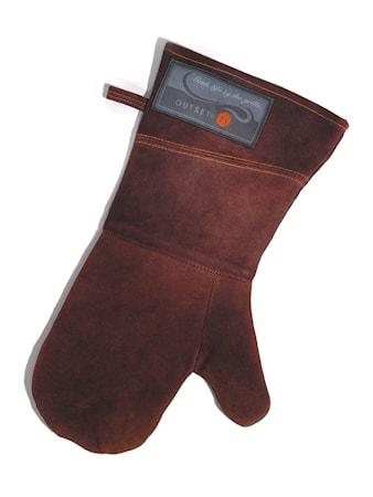 Outset Grillvante i läder (one size)
