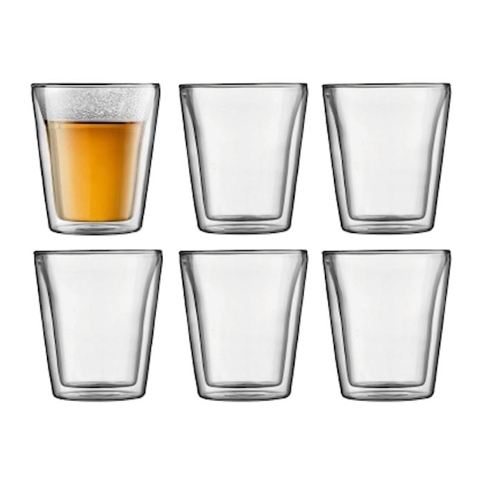 Bodum Canteen Dubbelväggat Glas 6 st 20 cl