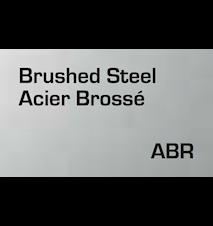 Signal S1400 Bordlampe 40x16 cm - Brushed Steel
