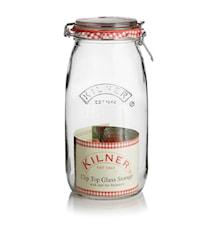 Konserveringsglass vippelokk 3 L