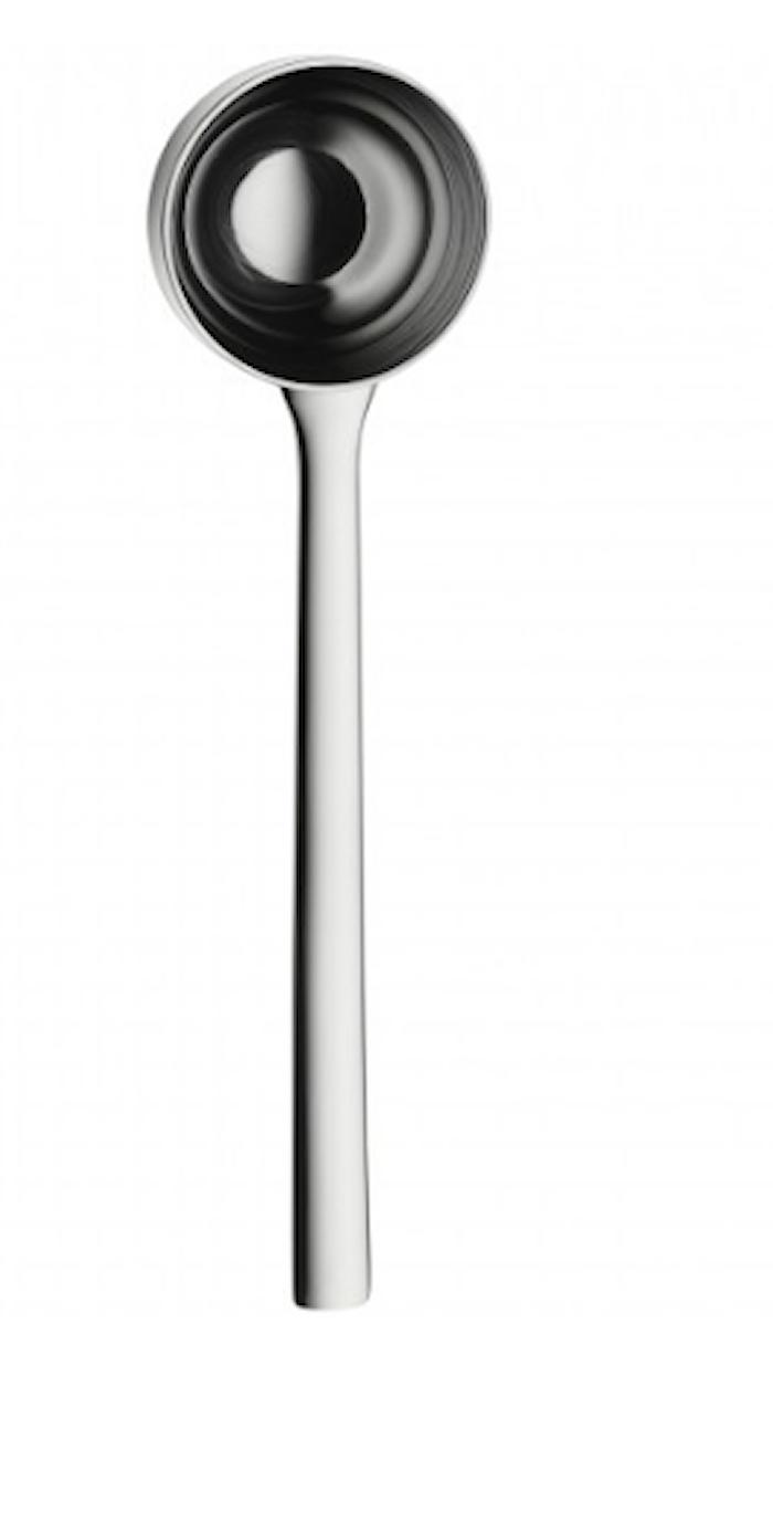 Nuova kaffemått blank stål 14,5 cm