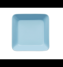 Teema lautanen 16x16 cm vaaleansininen