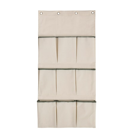 Veggoppbevaring med lomme 120x60 cm