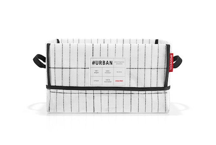 #urban låda new york Svart/Vit 19 L