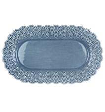 DITSY Oval tallrik Ljusblå 26 cm