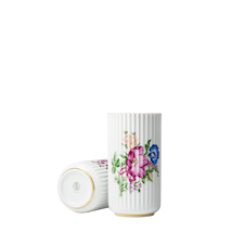 Lyngbyvasen Blomsterdekoration Vit Porslin 20,5 cm