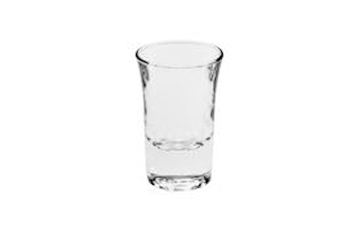Hot Shot Shotglass 3,4 cl