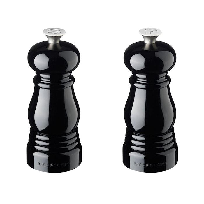Salt- och Pepparkvarnset Black 11 cm