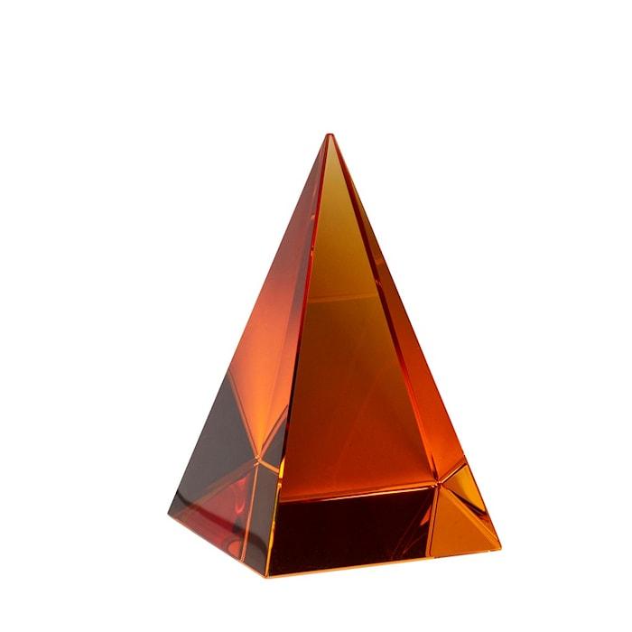 Glaspyramid Orange