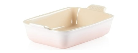 Heritage Rektangulärt Ugnsform 26 cm Shell Pink