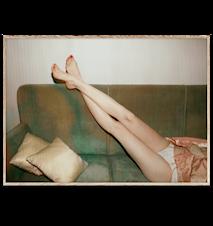 Resting Feet Poster 40x30