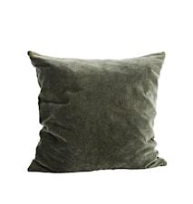 Pudebetræk 50x50 cm - Grøn