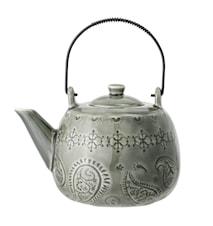 Rani Teekanne Grün Steingut