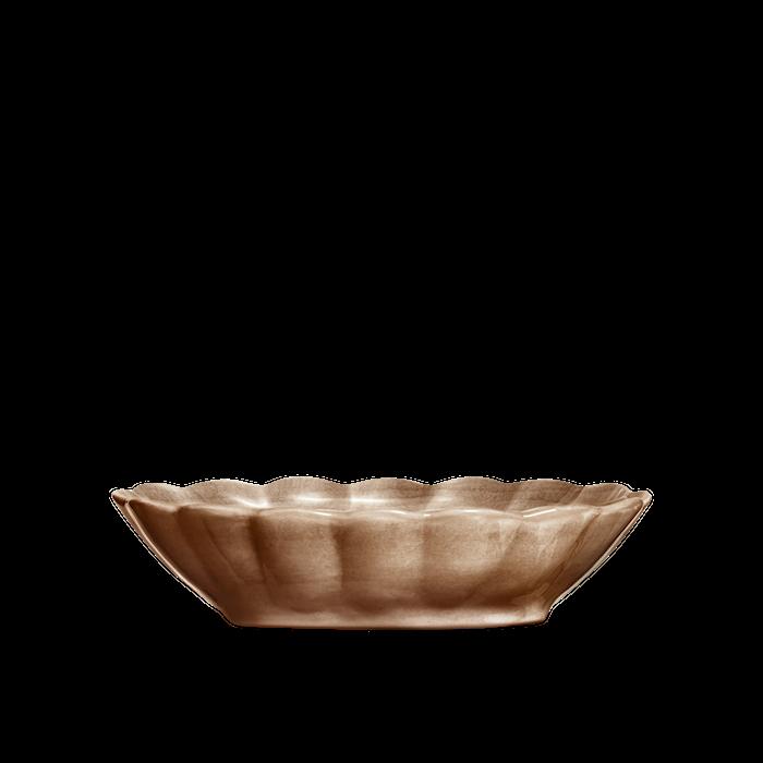 Oyster Skål Cinnamon 23x18 cm
