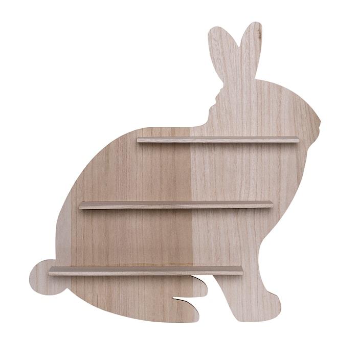 Hylle Kanin Keisertre 50x50x9 cm