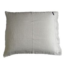 Lovely linen putetrekk – Light grey, 50x60
