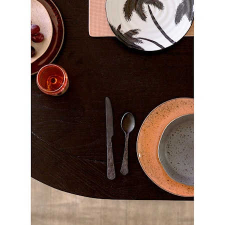 Bold & Basic Keramikk Tallerken Grå