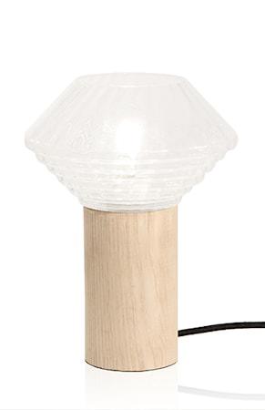 Bordslampa Edge Klar/Natur