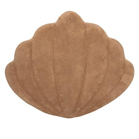 Matta Shell Ljusbrun 66x75cm