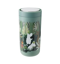 To Go Click Moomin Soft Dusty Green 0,4 L