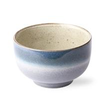 70's Skål Keramikk Blå 50 cl