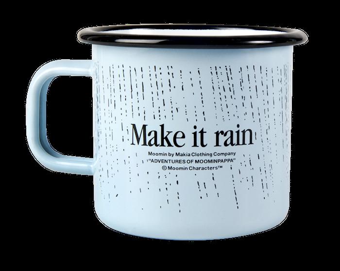 MuumiXMakia Rain Muki 37 cl Sininen