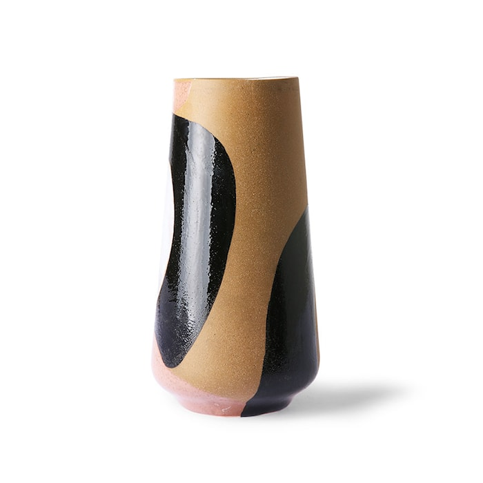 Handmålad Flower Ceramic Vas