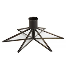 Ljusstake Star Black Small