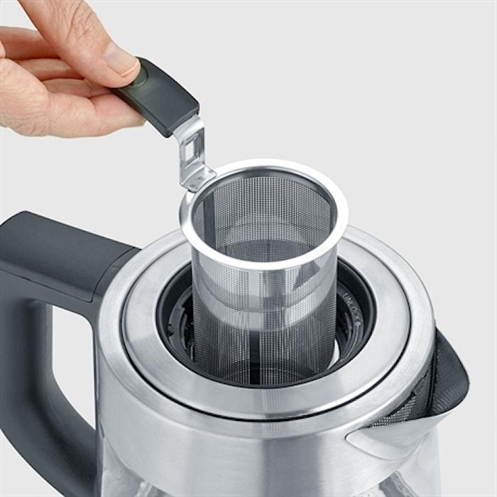 Vedenkeitin Deluxe lämpötila-asetuksella 1L