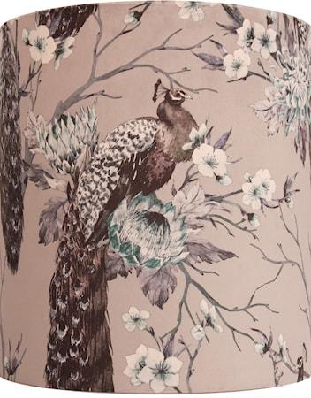 Lampeskjerm Celyn Peacock Gråblå