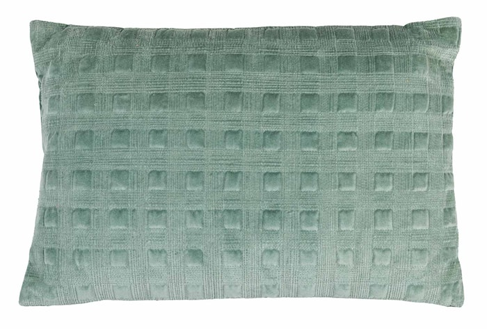 Putetrekk Velvet Box - Ocean Green