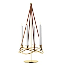 Maria Berntsen Season Extension for Candle Holder Gold plated
