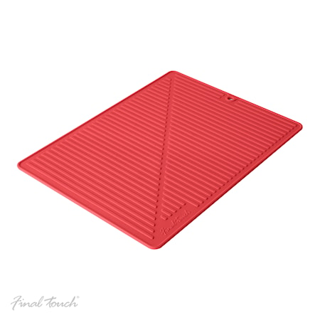 Drying mat Red