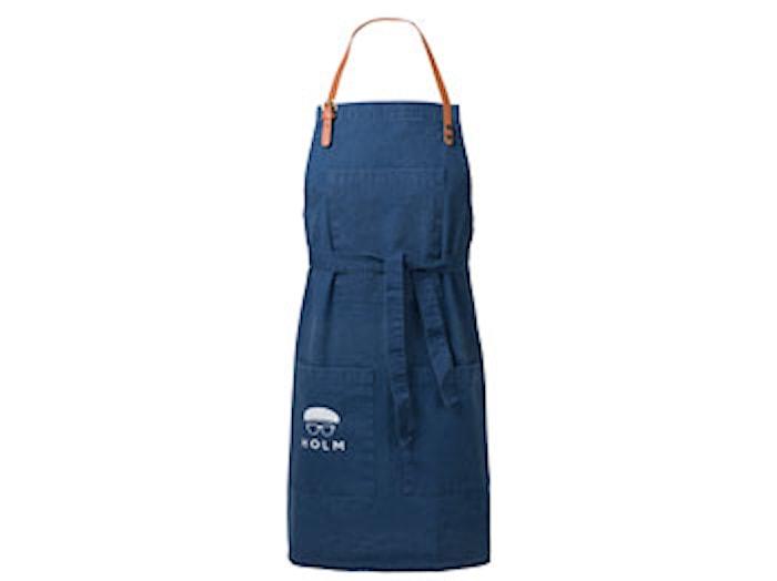 Forkle 80x90 cm Washed blå